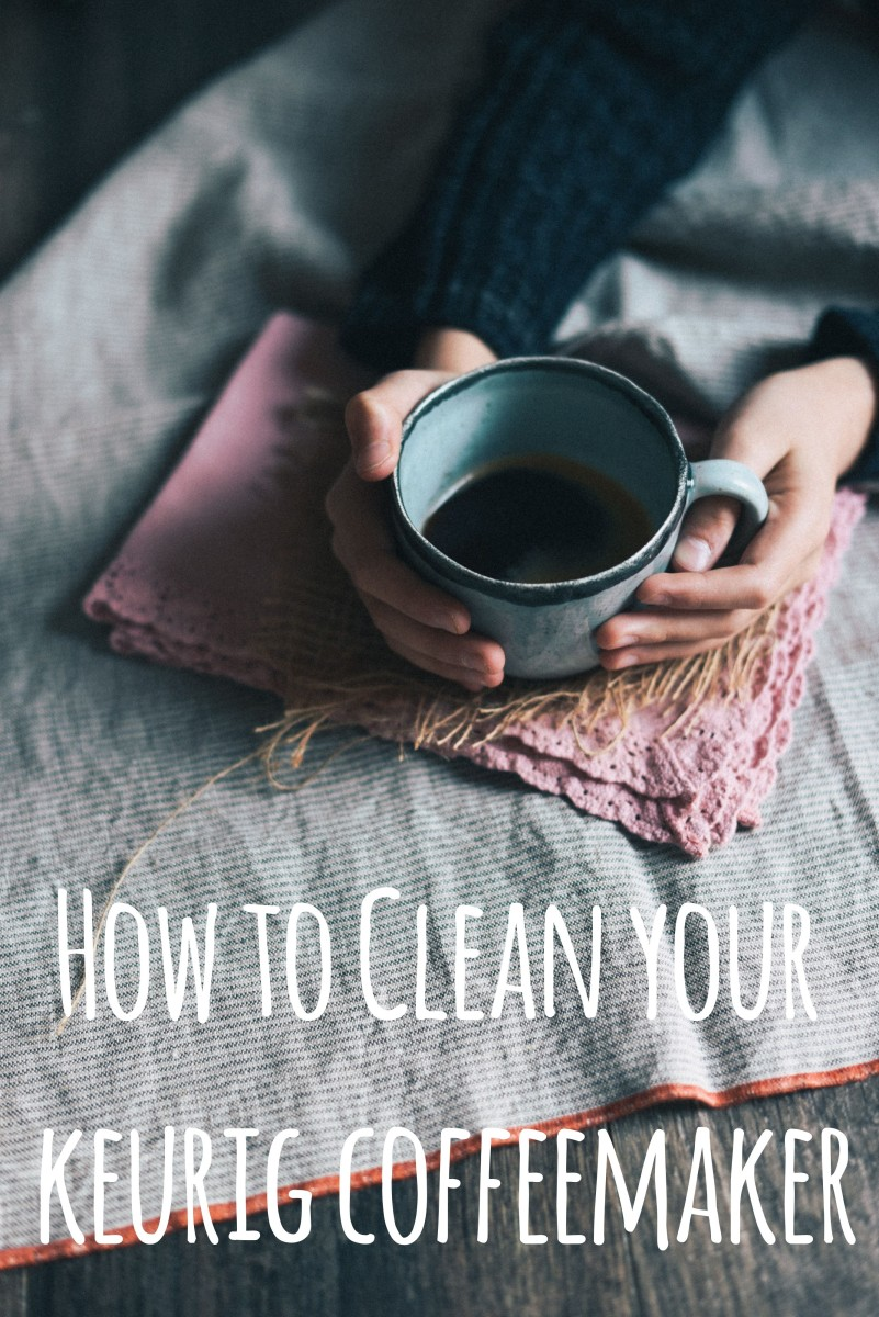 Cleaning Mold From A Keurig Coffee Maker S Water Reservoir