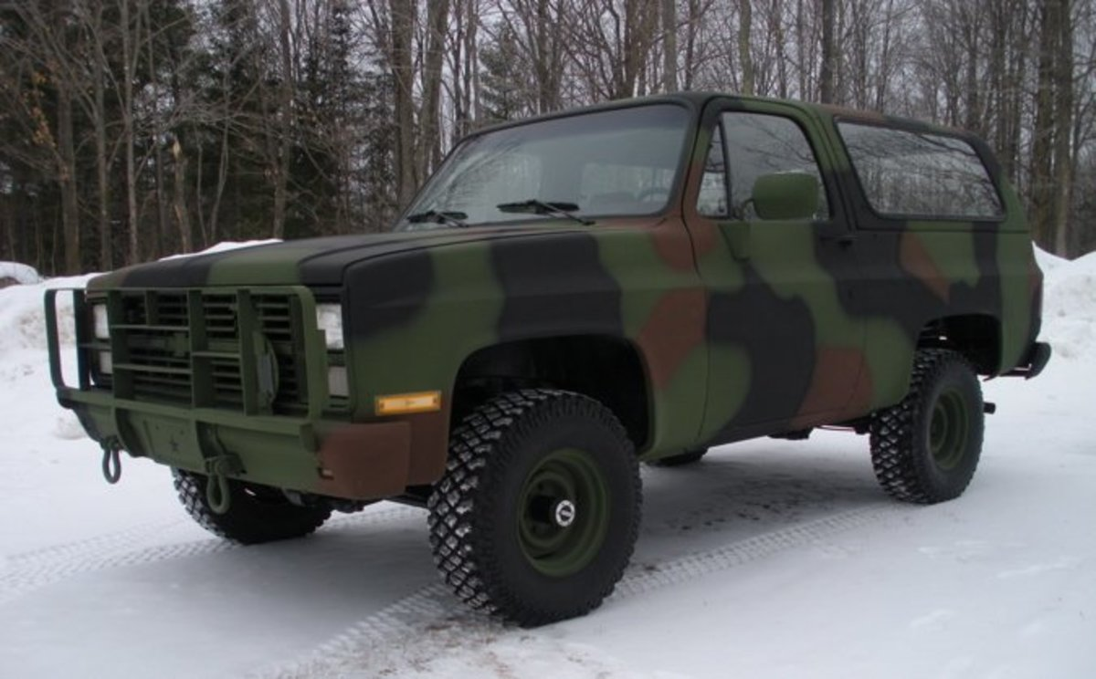 The M1009 CUCV - A Manly, Eco-Conscious, Military Rejected Survivalist's Dream Vehicle