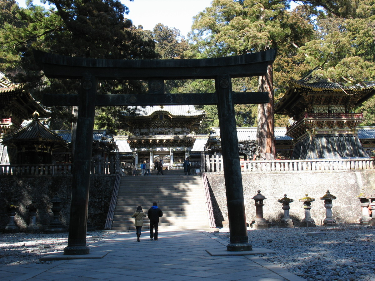 A Shinto Shrine I visited in Nikko, Japan