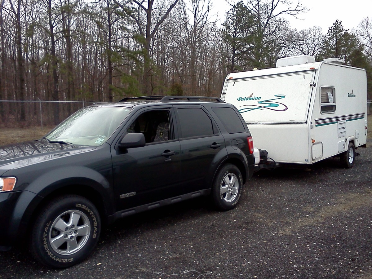 Picking up the travel trailer from dealer: The work has just begun.
