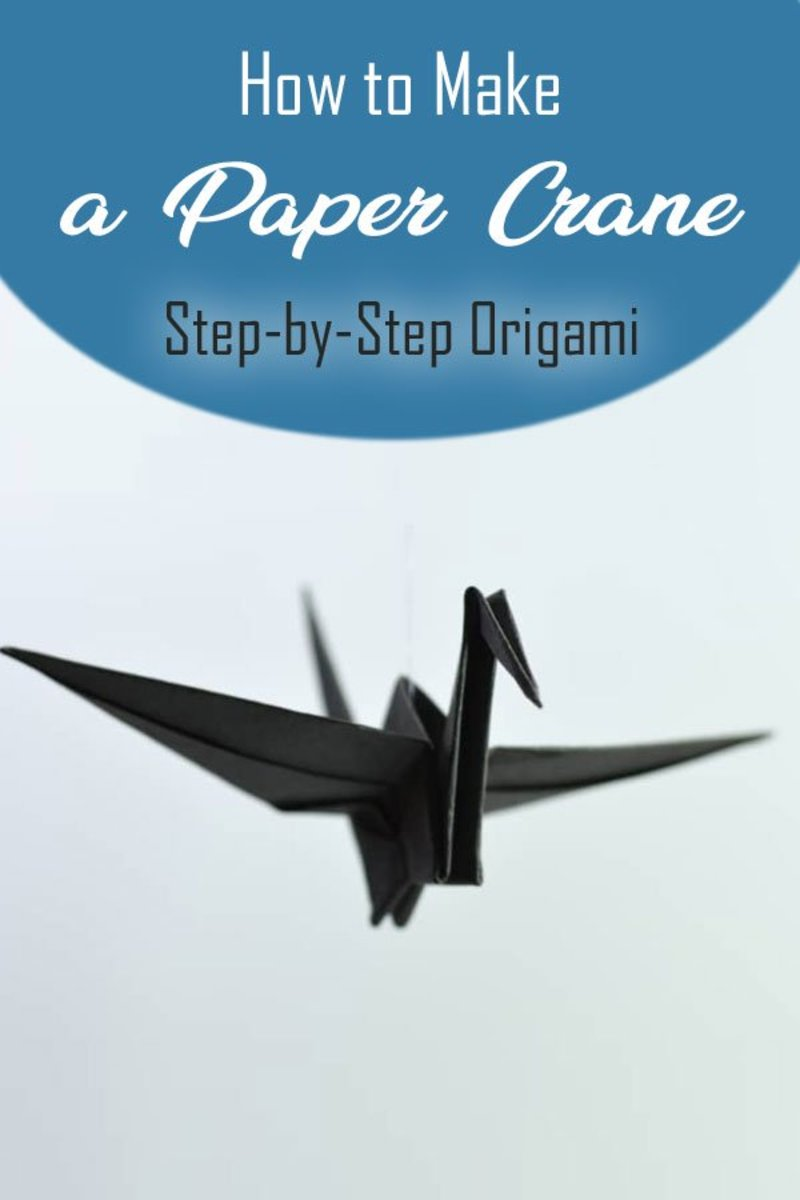 How to Make a Paper Crane, Step-by-Step Origami