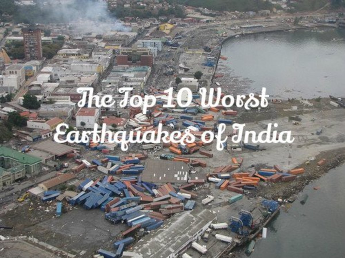 Top 10 worst earthquakes of india owlcation for Best place to be in an earthquake