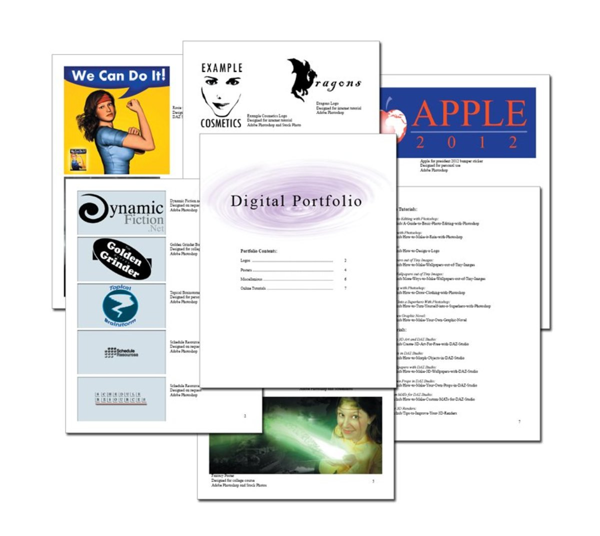 How to Create a Digital Art Portfolio