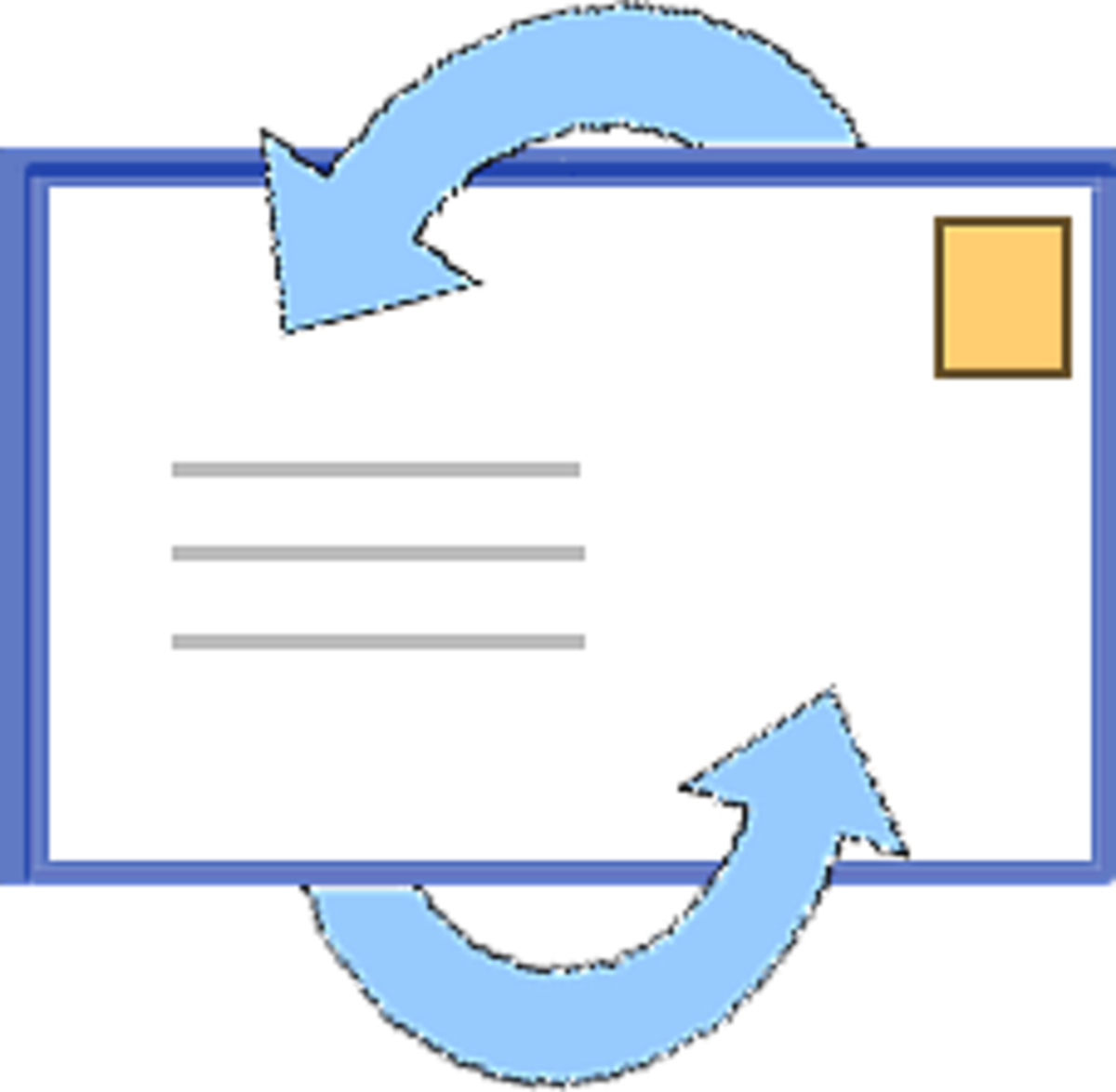 Outlook Express, an email program