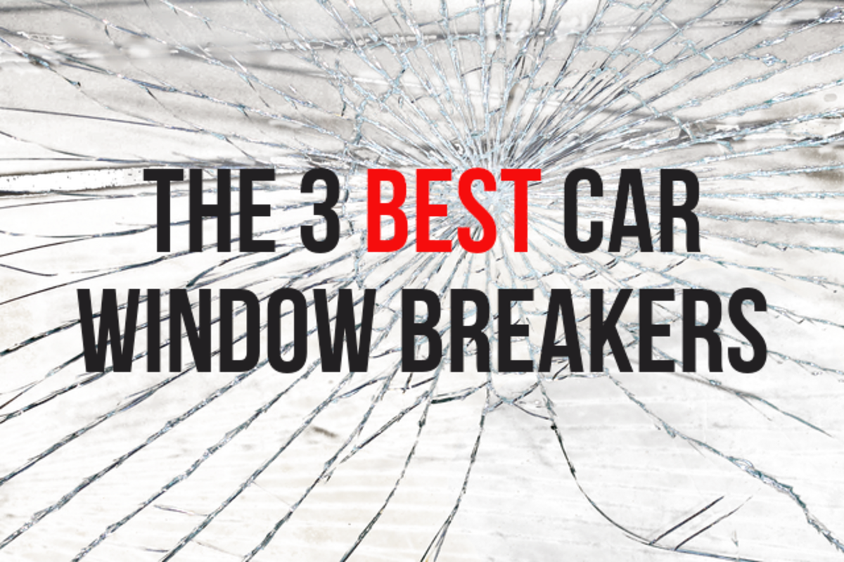 Getting trapped in a vehicle after an accident is no joke, here are some recommendations for reliable window breakers should such an emergency arise. See below for my suggestions.