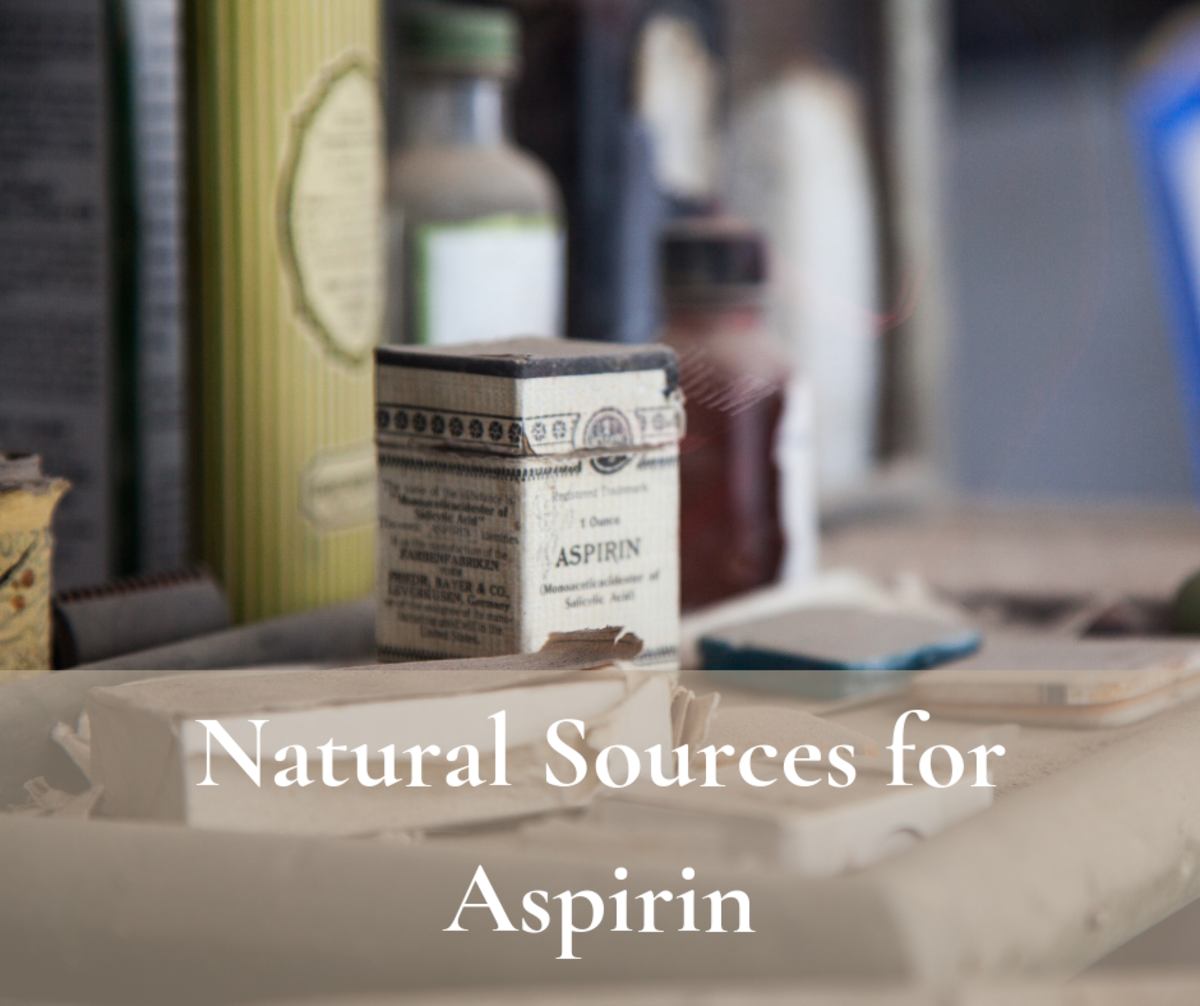 Where can you find aspirin when pill-form isn't an option?