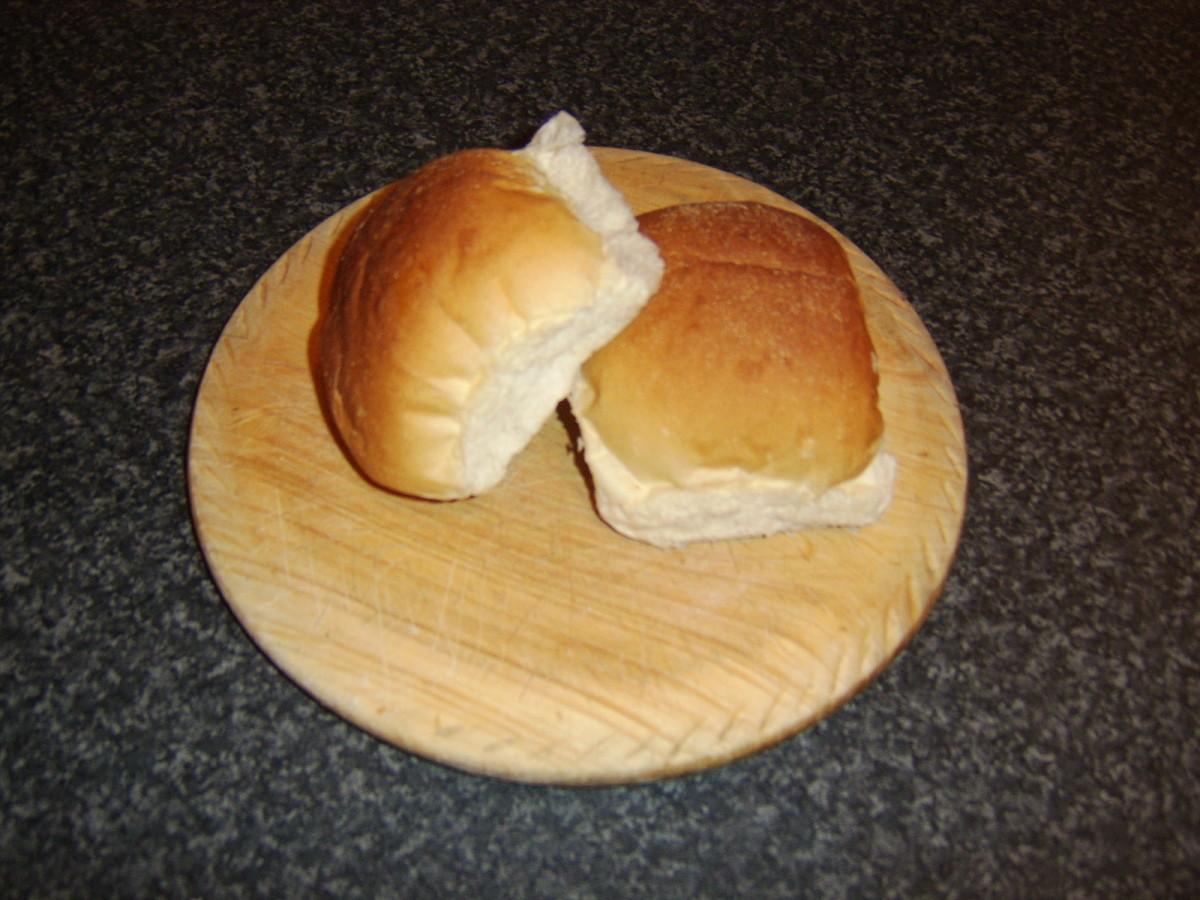 Scottish morning rolls.