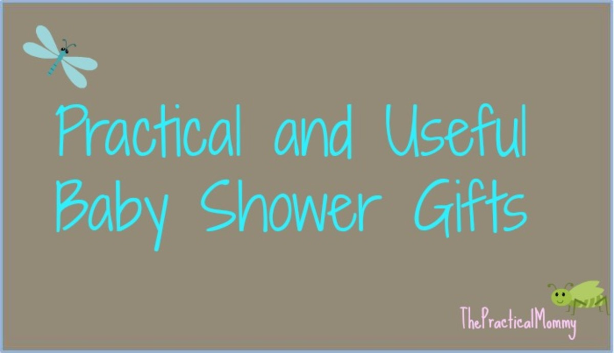 List of practical and useful baby shower gifts