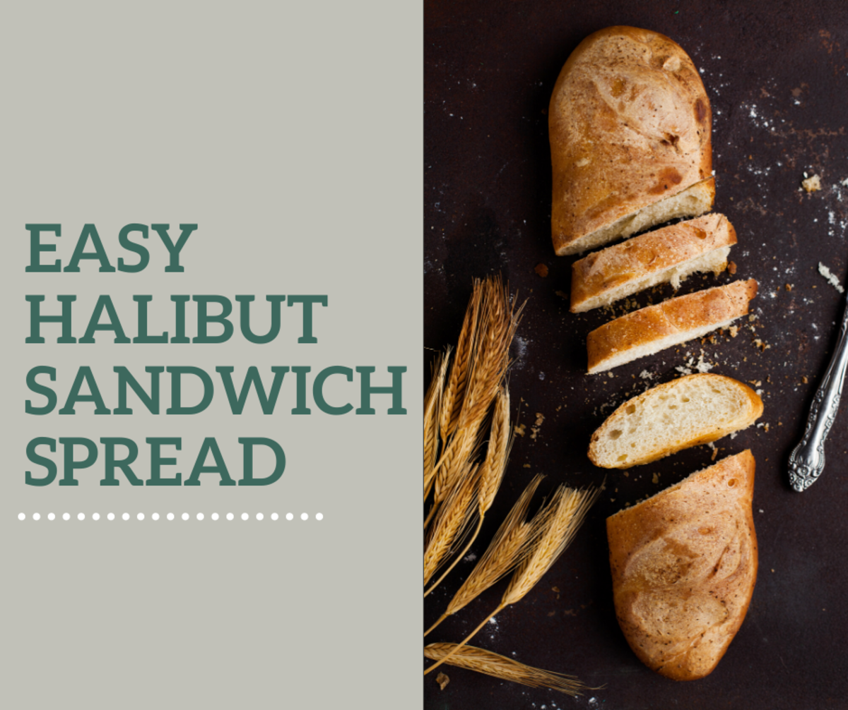 Don't let your leftover halibut go to waste! Use it in a sandwich!