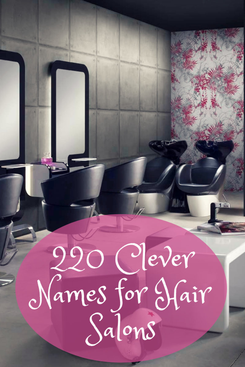 clever and fun names for your hair salon barbershop or. Black Bedroom Furniture Sets. Home Design Ideas