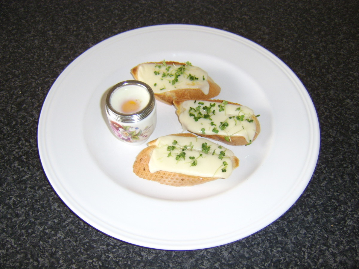 A coddled egg with mozzarella toast is one of the recipes you will find on this page