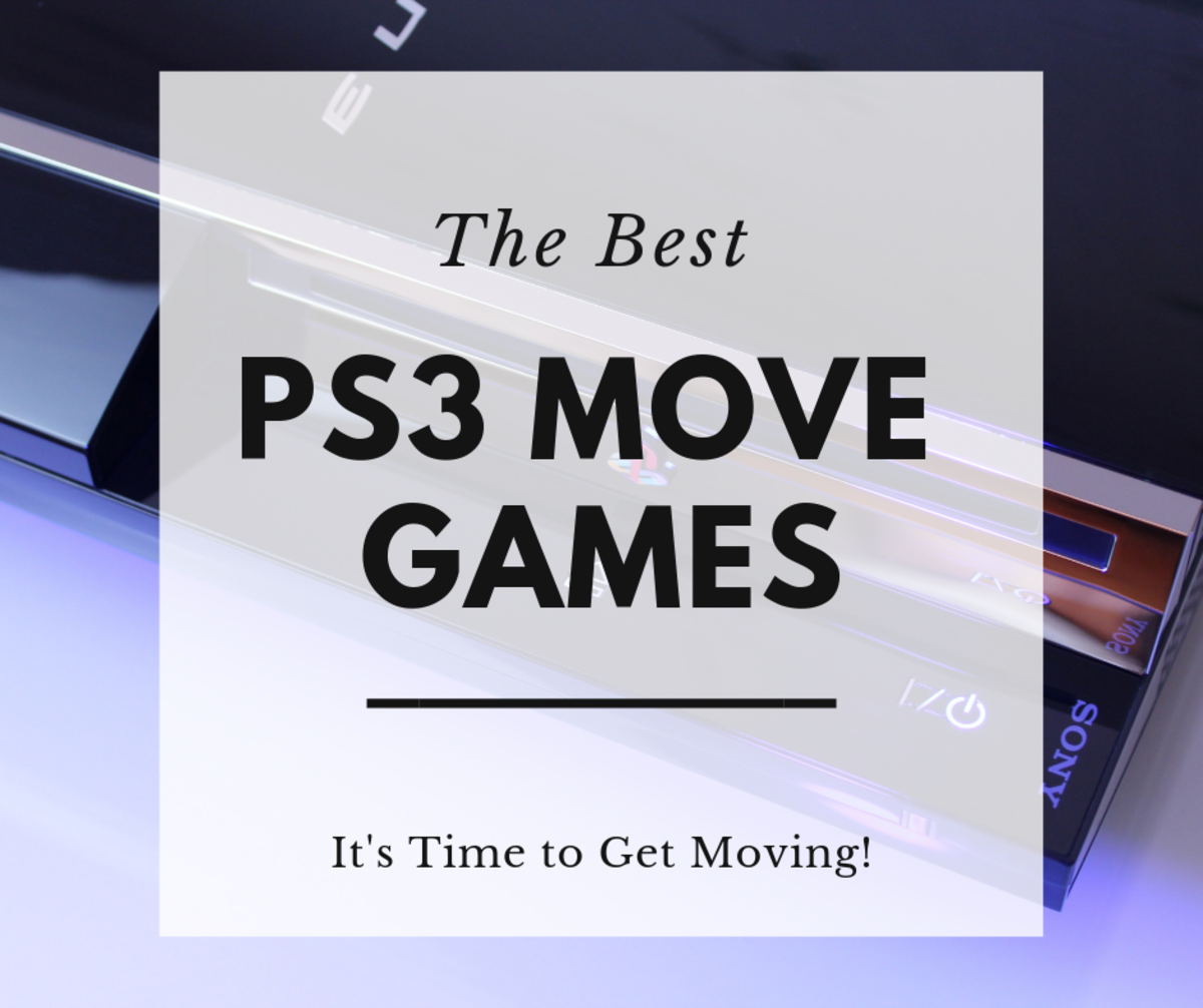 The Best PS3 Move Games