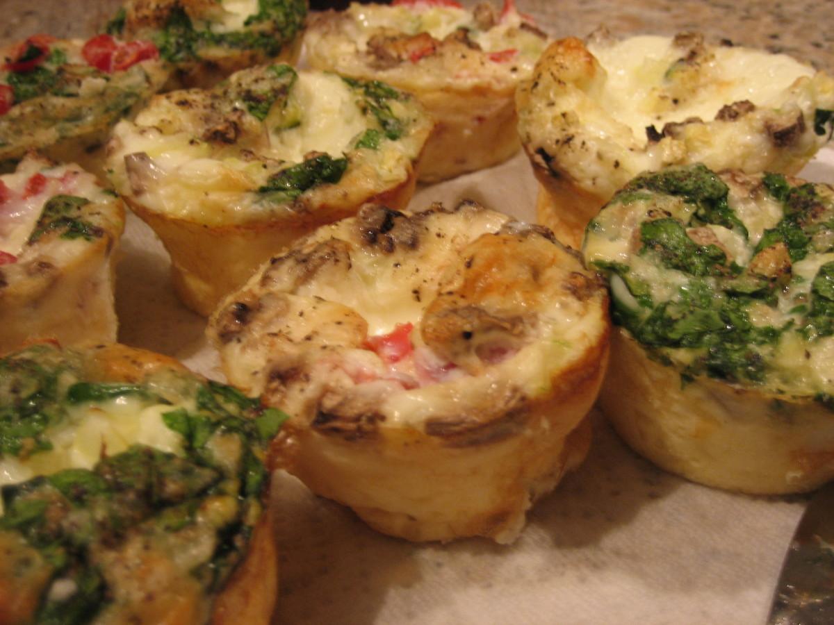 South Beach Diet Phase  Mini Quiche