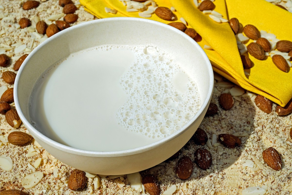 Fresh almond milk is delicious, and so is the nutritious pulp!