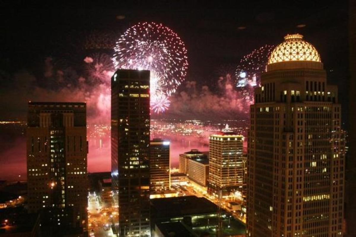Thunder Over Louisville: Largest Firework Show in the United States and Kickoff for the Kentucky Derby Festival