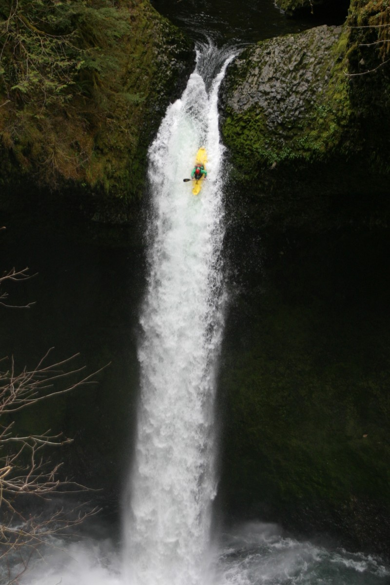 How to Run a Big Waterfall in a Kayak