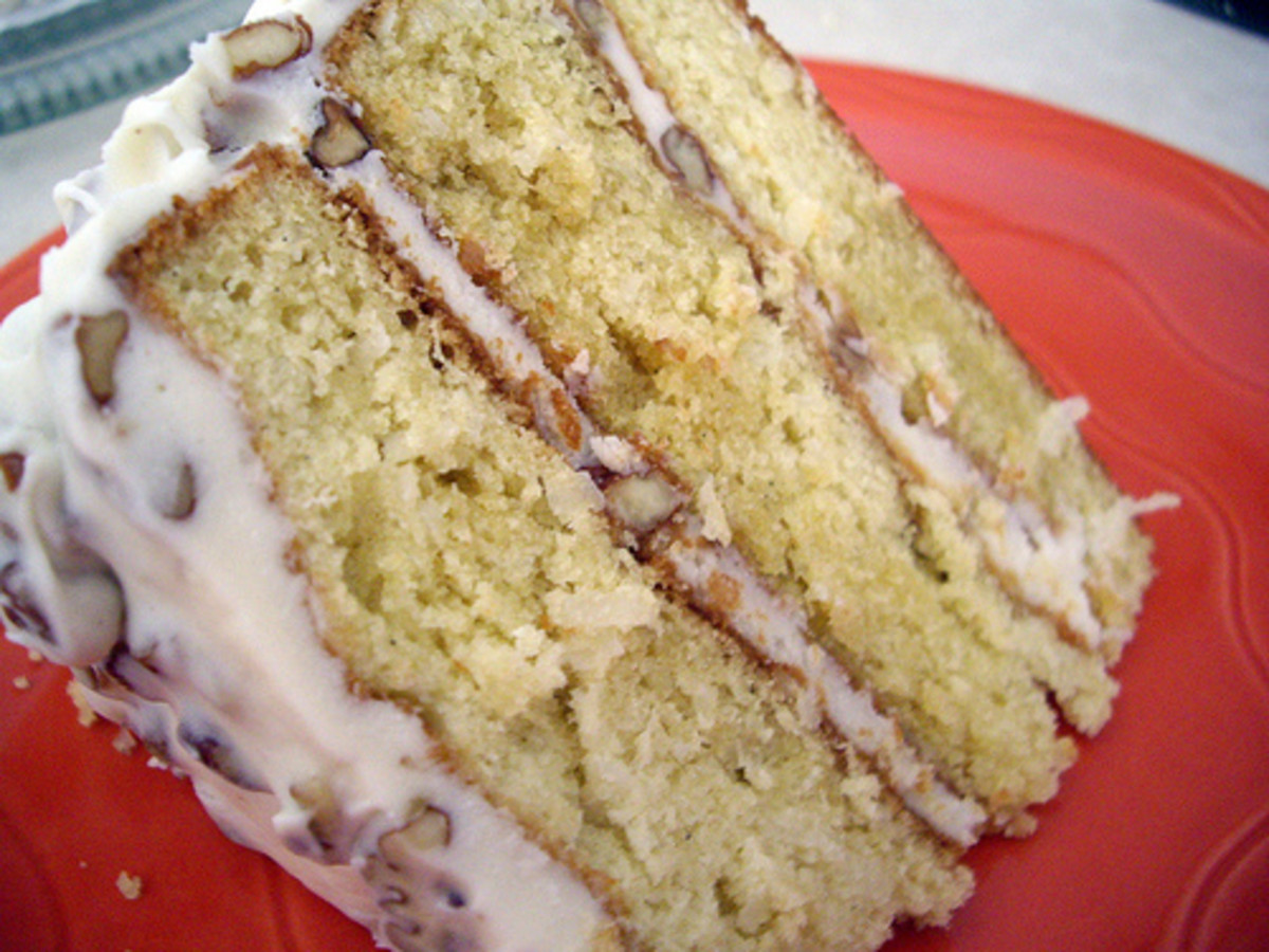 Italian Cream Cake (Plus Pie Variation)