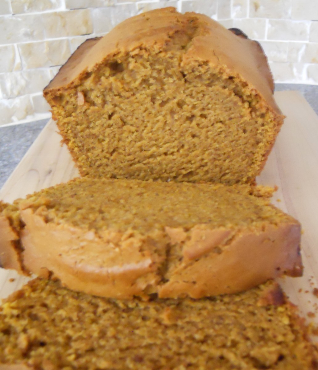 Granny's Moist Pumpkin Bread Recipe