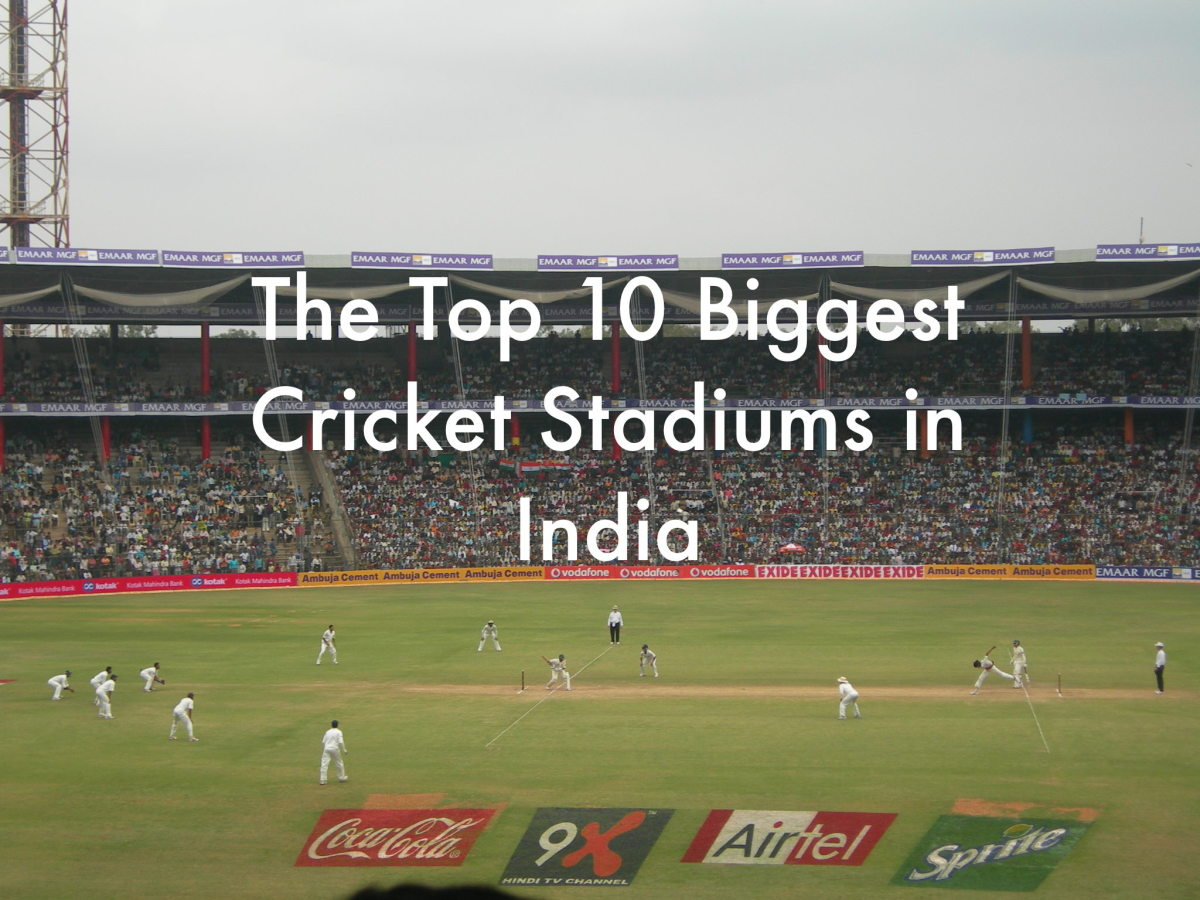 Top 10 Biggest Cricket Stadiums in India | HowTheyPlay
