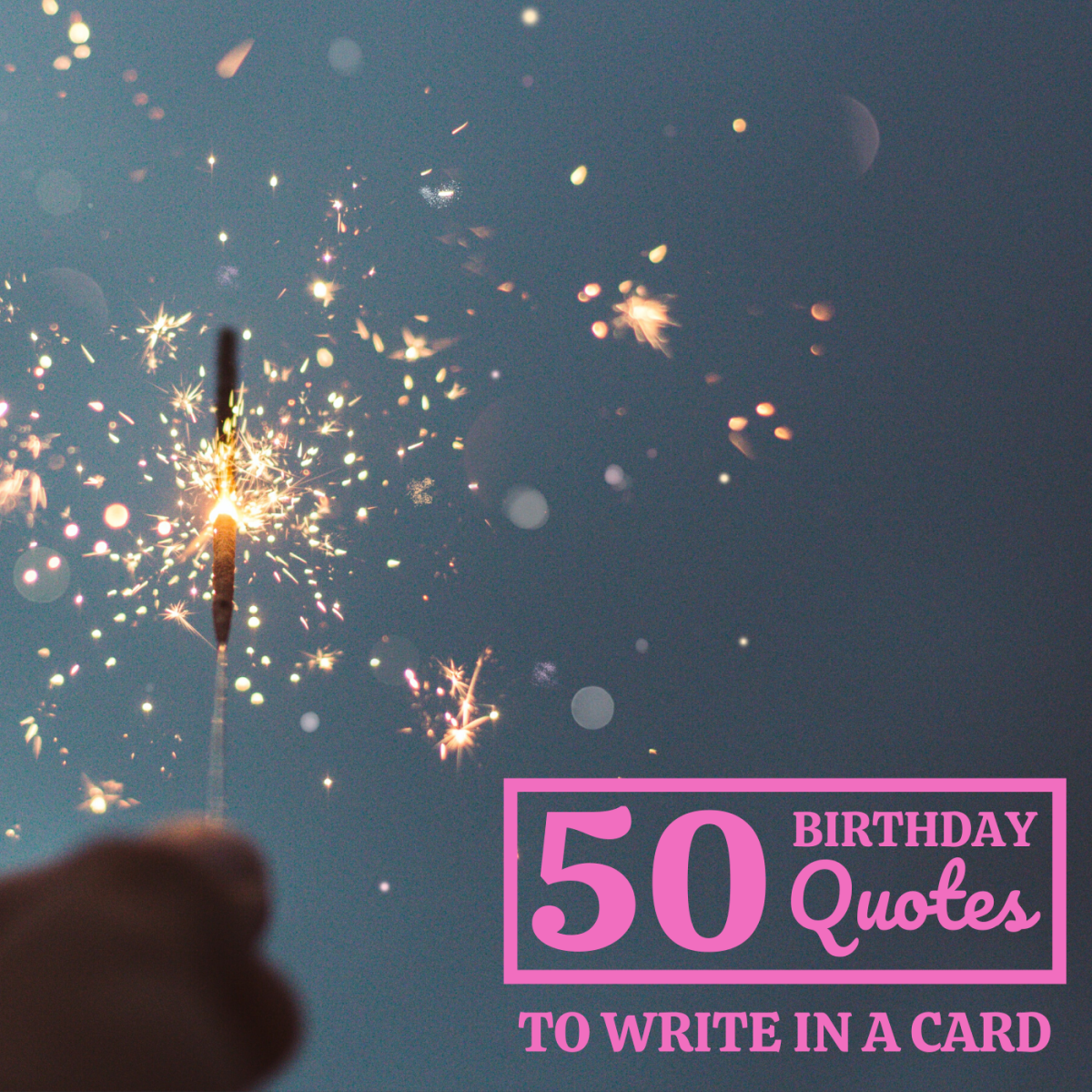 Inscribing a relevant quote is a great way to personalize a birthday card. The 50 listed here range from funny to silly to serious to sincere.