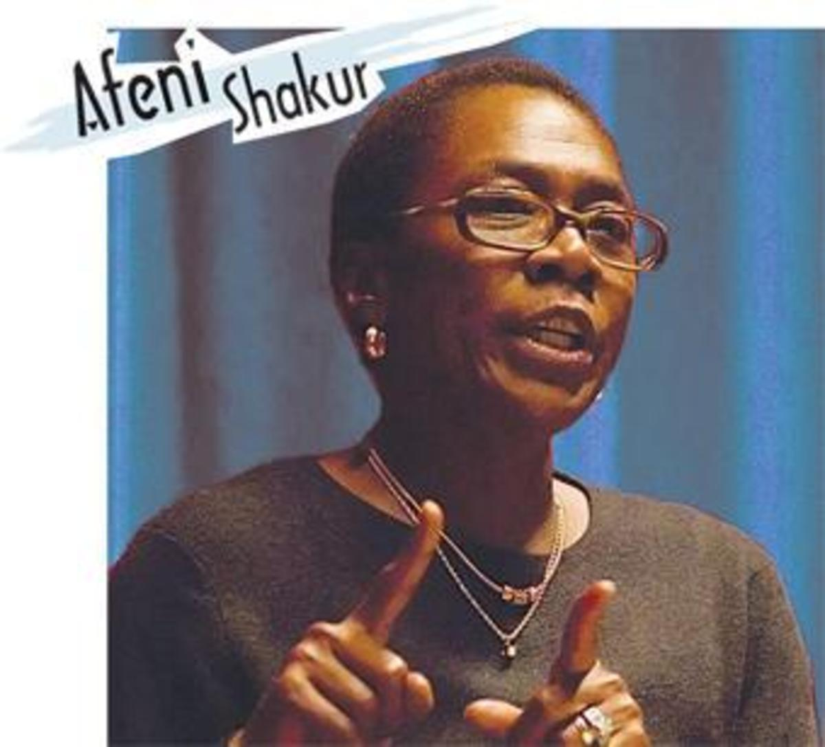 Afeni Shakur Ex-Member of the Black Panther Party for Self Defense