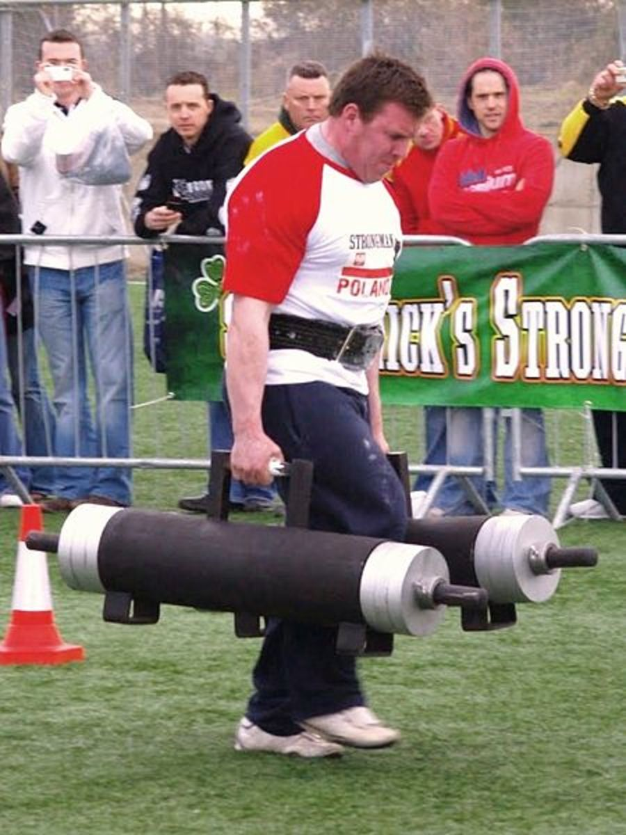 Talent in a physical strength (by Munsterbusiness.ie)