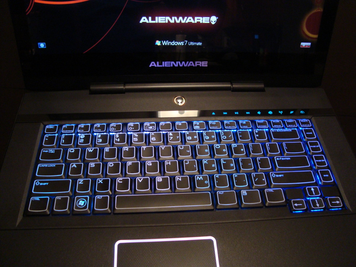 How to Upgrade the Hard Drive in the Alienware M15x Laptop