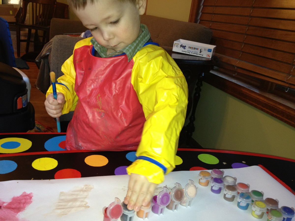 A great daycare nurtures your child's interests.