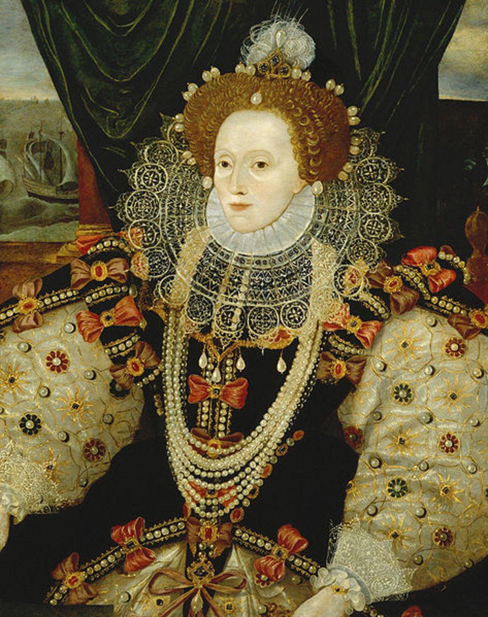 A portrait of Queen Elizabeth 1