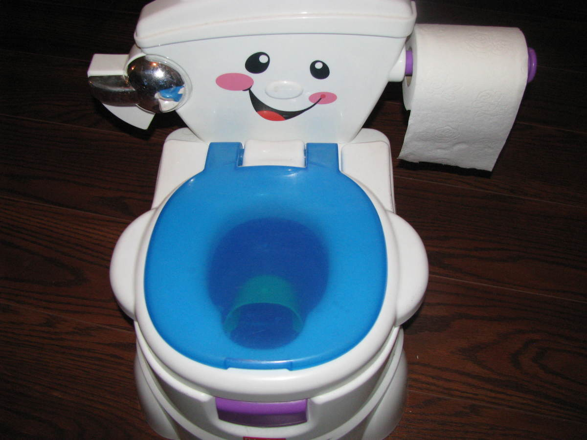 The Fisher Price Cheer for Me! Potty seat.
