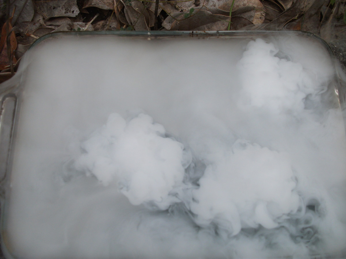 Cool Science Projects and Experiments With Dry Ice
