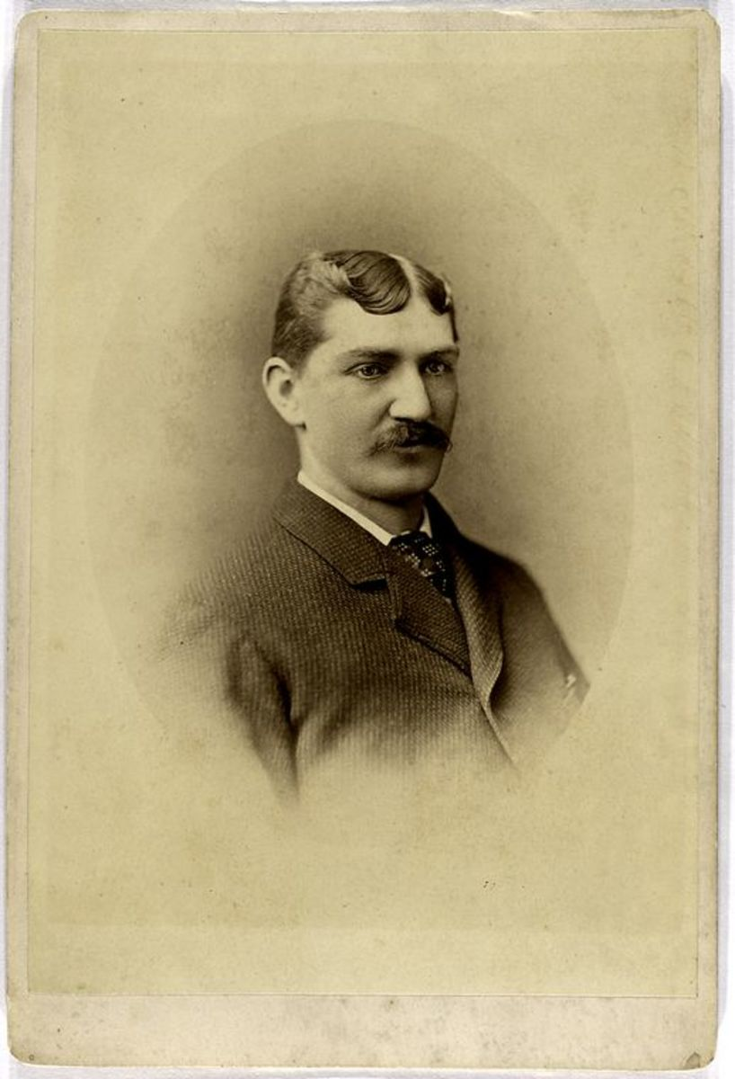 Tommy Bond won the National League Triple Crown in the league's second year of play. (Photograph by Howland)