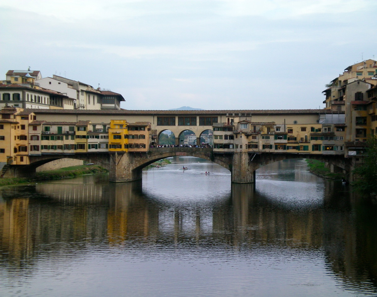 The Ponte Vecchio: a timeless view (c) Anne Harrison