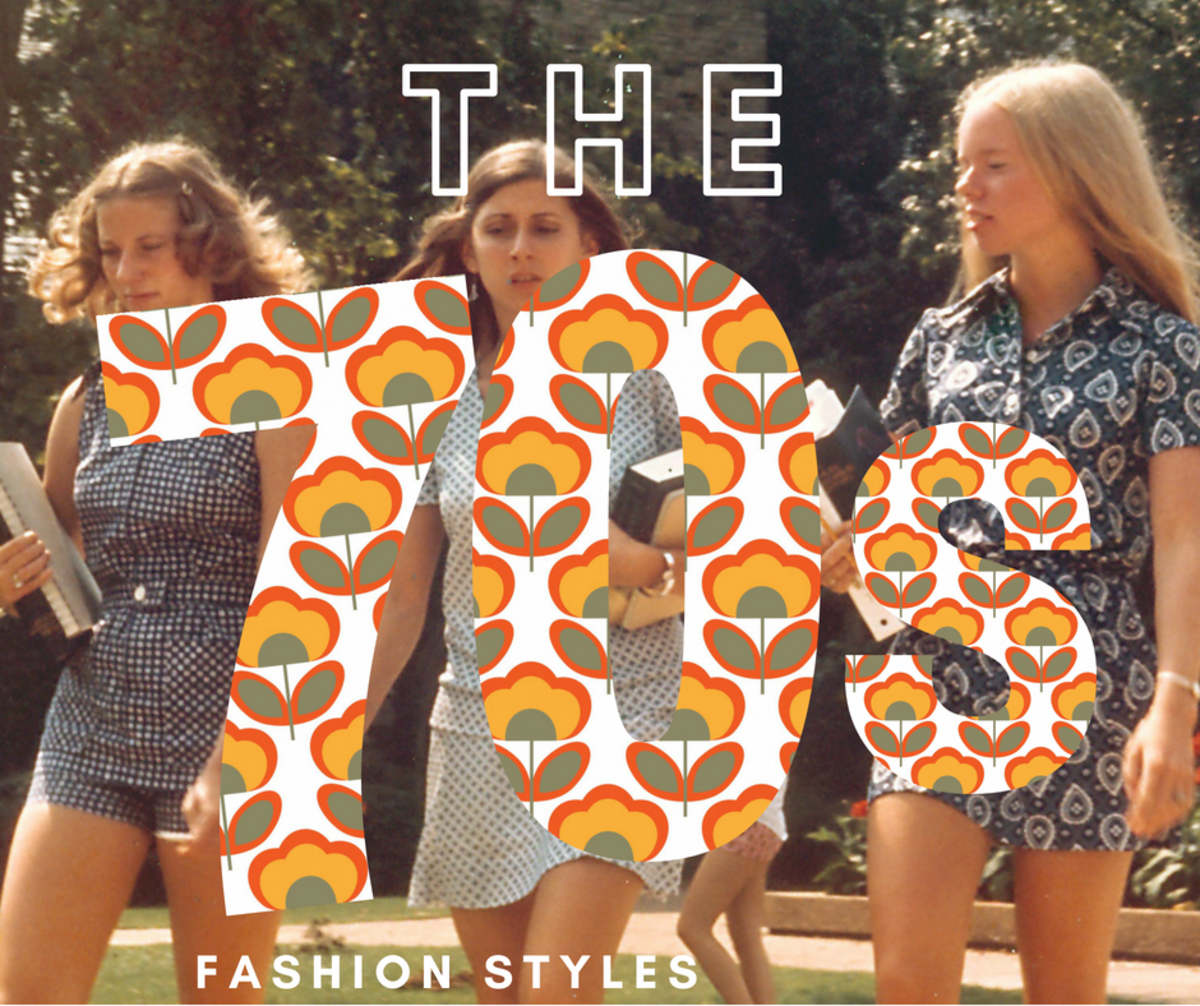 The '70s was a revolutionary time, especially for fashion.