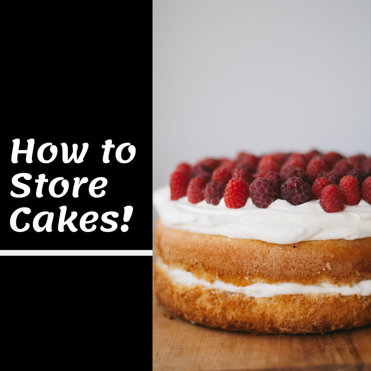 Storing cakes can be difficult. Read on to learn how to do it best!