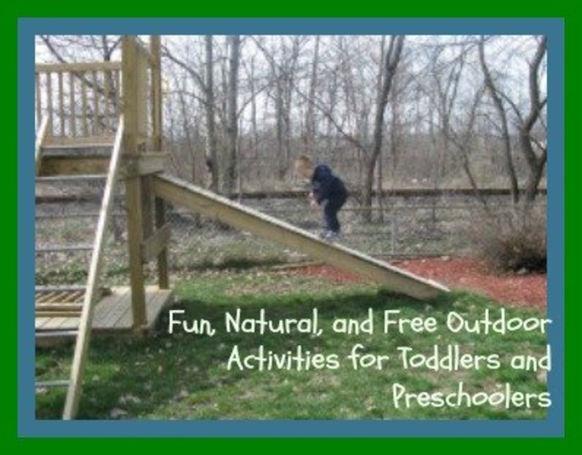 Free Outdoor Activities for Toddlers and Preschoolers to Do in the Backyard