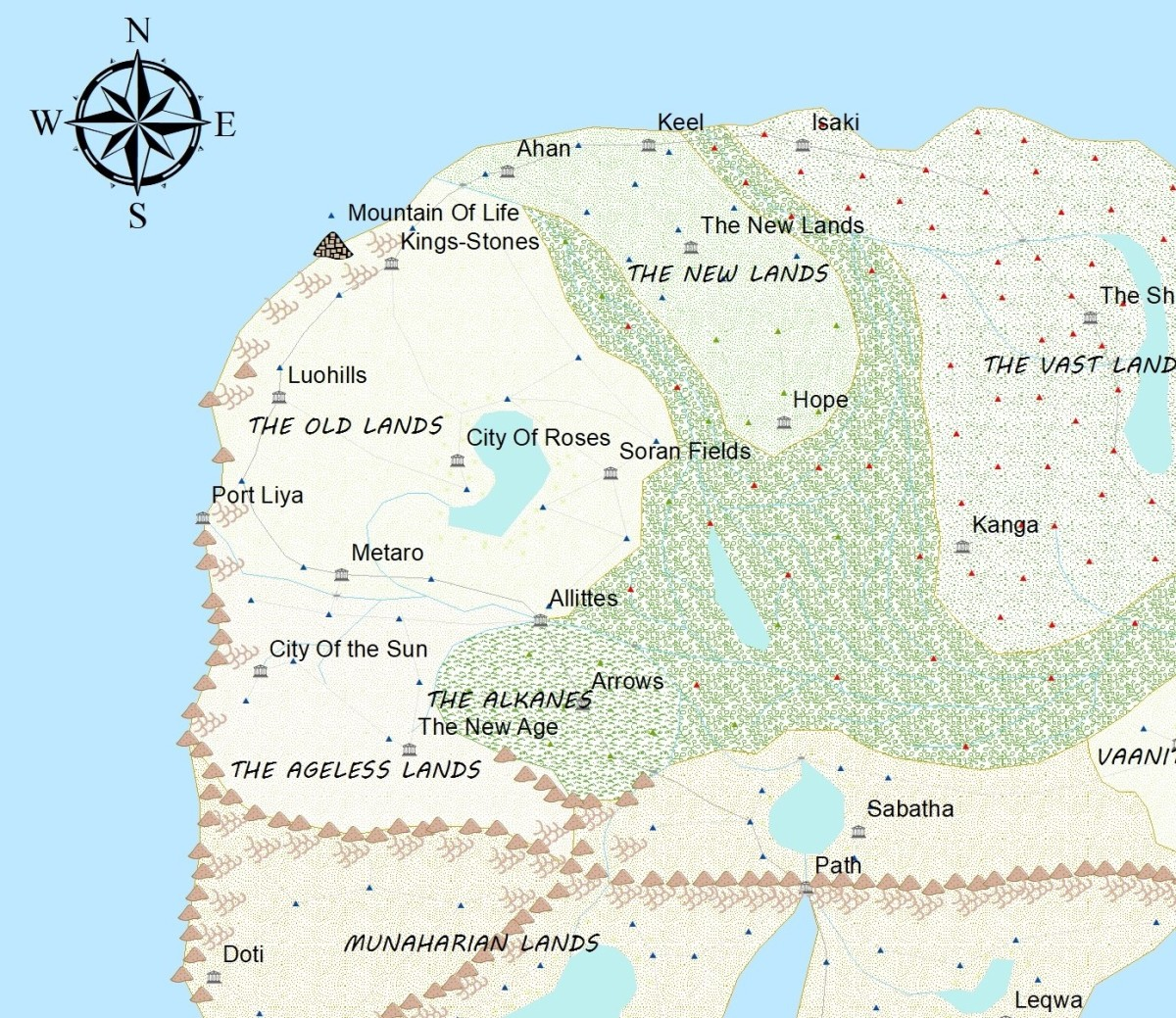 Creating a Fantasy World Map: Scientific Laws to Remember