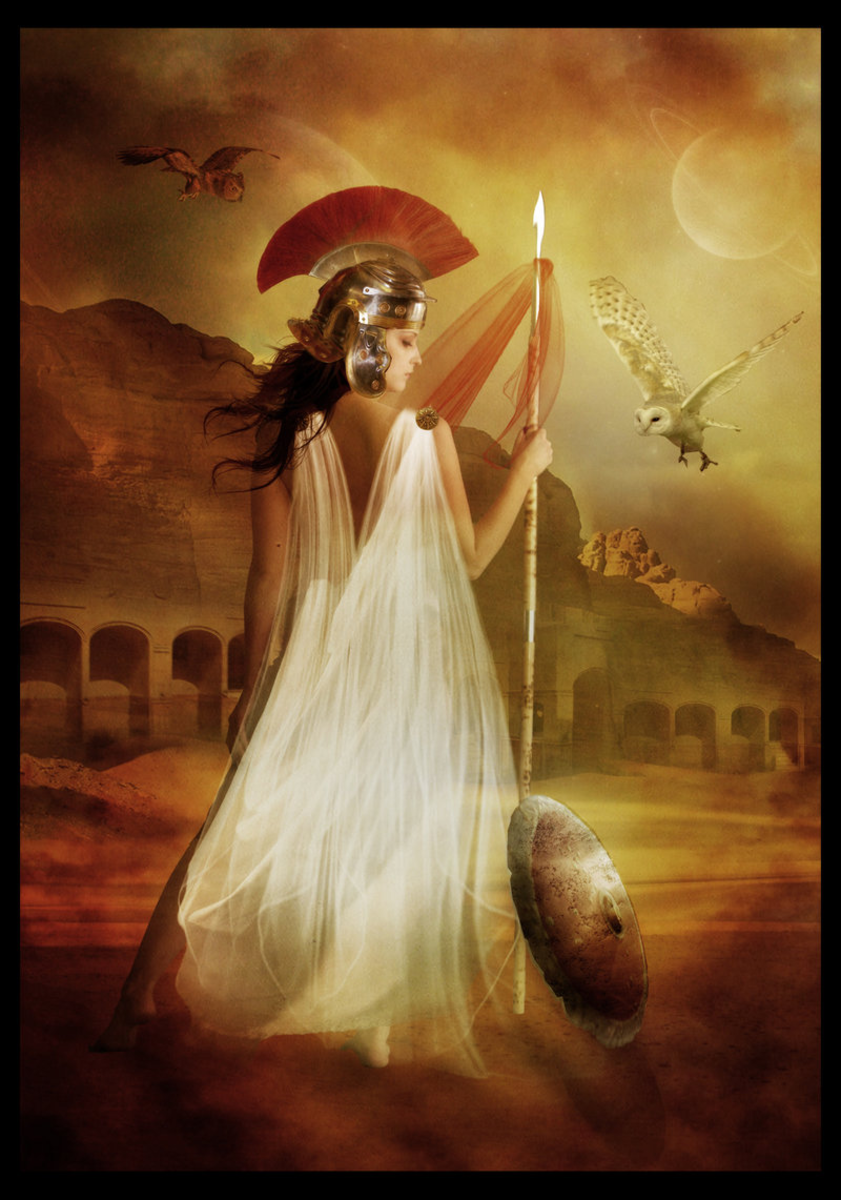 Athena, Goddess of Wisdom and Artistry in Greek Mythology