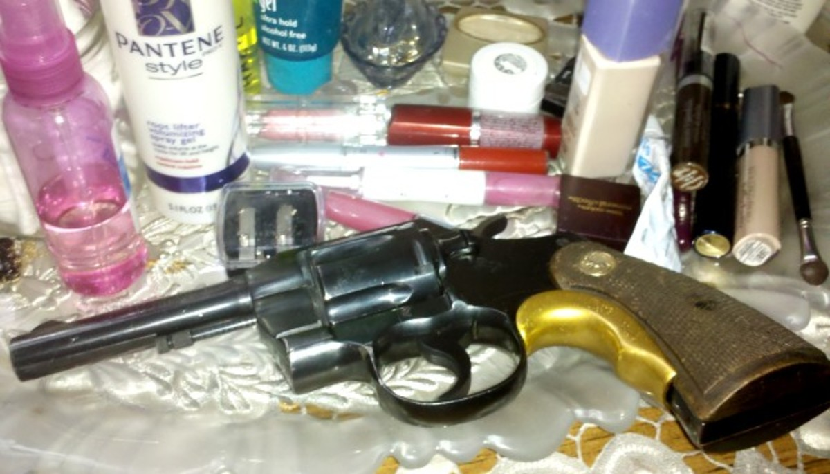Colt .38 Police Special revolver has a really sweet trigger pull.
