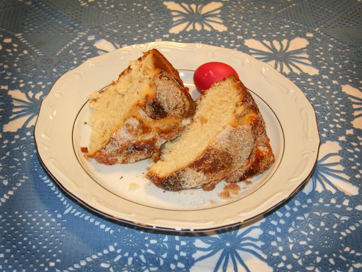Sirnica Recipe (Croatian Hrvatski Easter Bread)