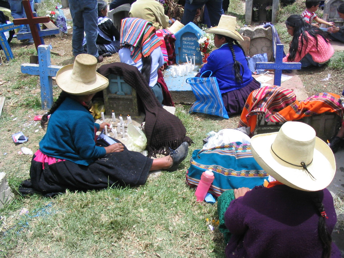 Day of the Dead Festival, Peru.  All rights reserved.