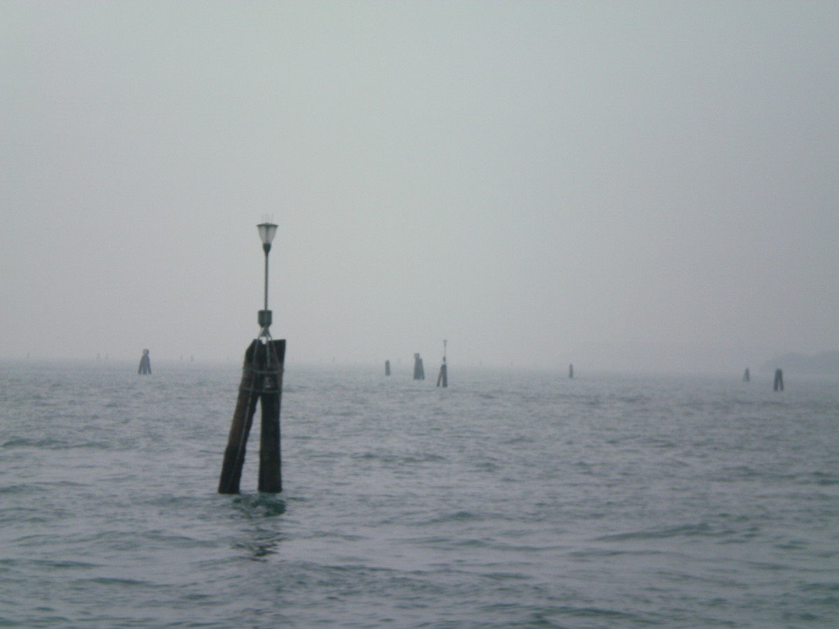 Mist on the Venetian lagoon (c) A. Harrison
