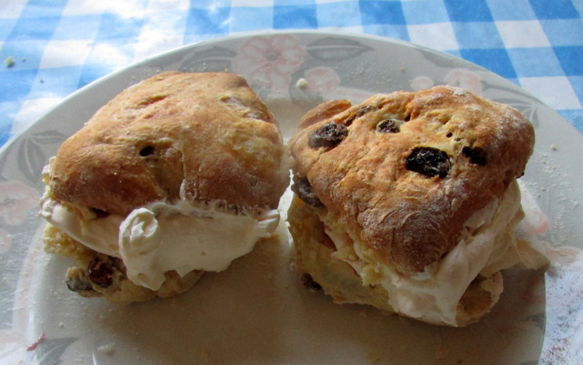 Recipe for Fluffy Fruit Scones