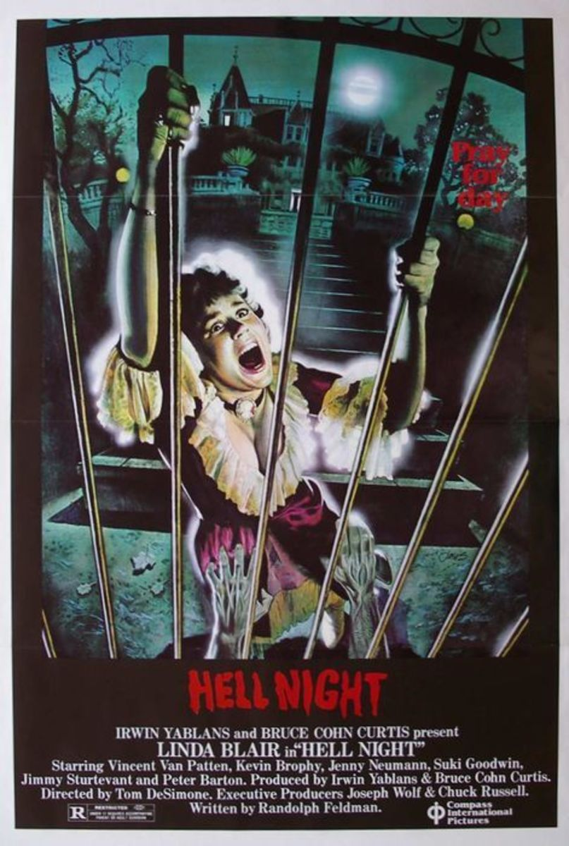"""My """"Hell Night"""" DVD came with a postcard-sized reproduction of the original film poster."""