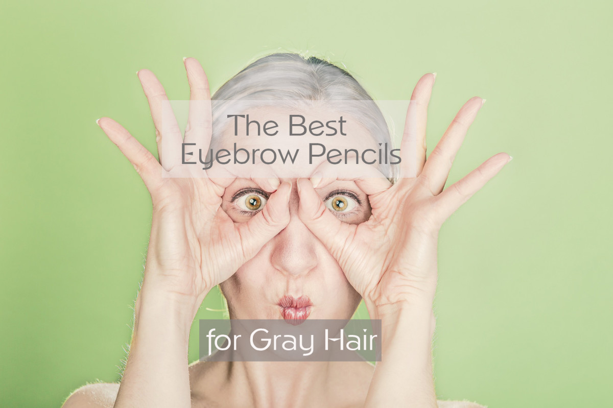 Eyebrow pencils for grey hair