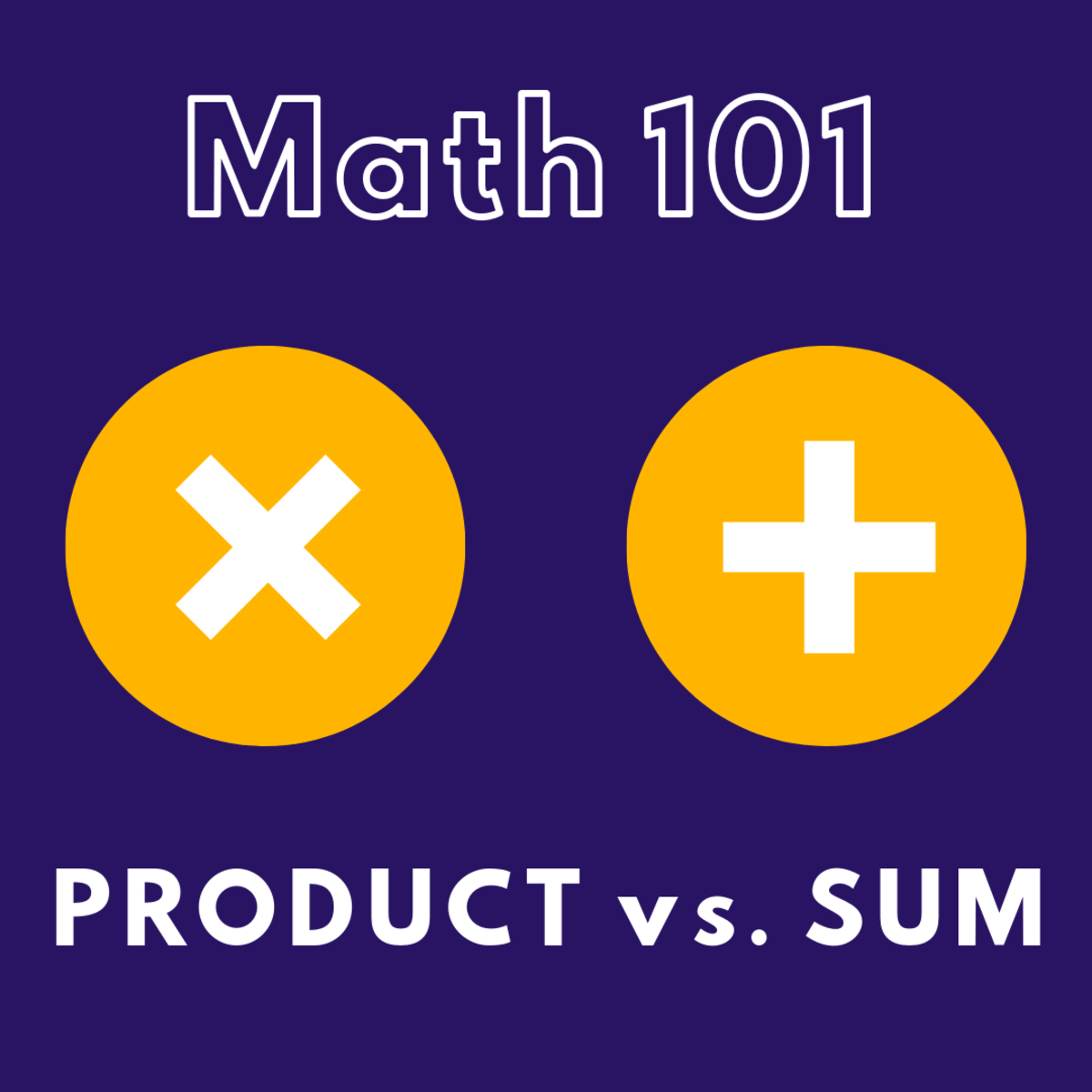How to Find the Product and Sum of Two (Or More) Numbers