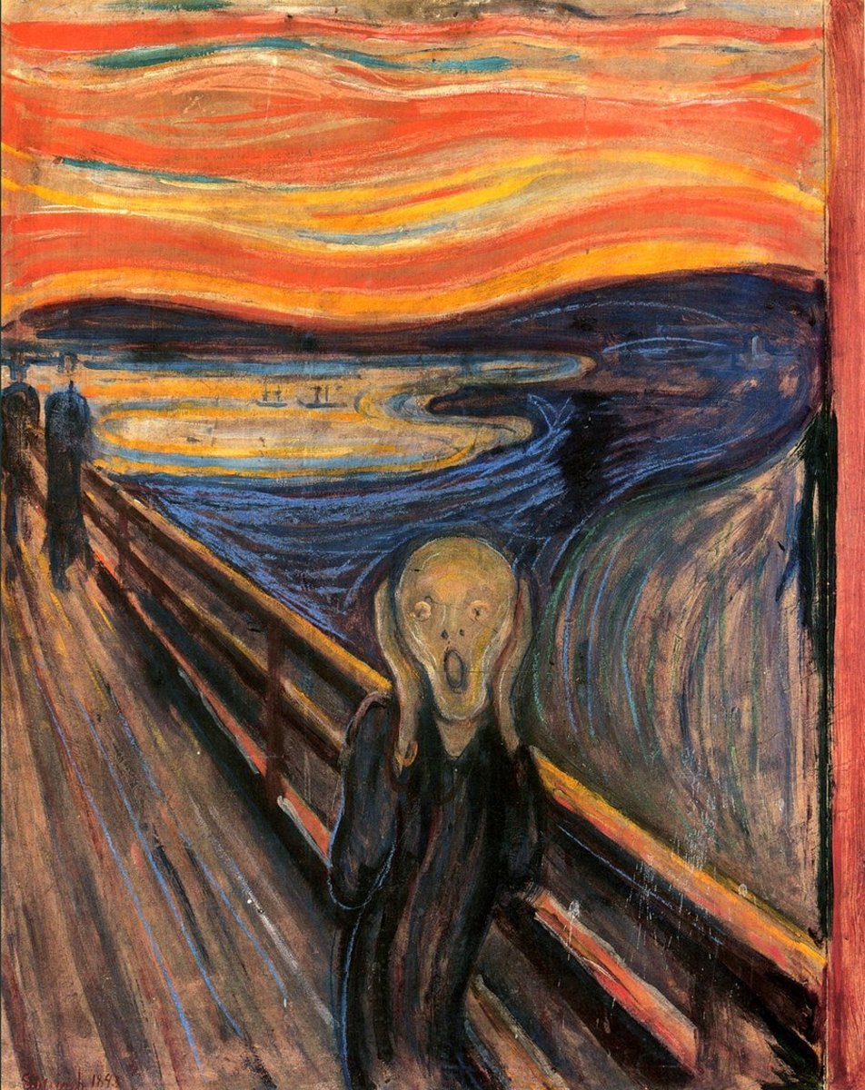 the scream by edvard munch a critical analysis owlcation the scream by edvard munch a critical analysis owlcation