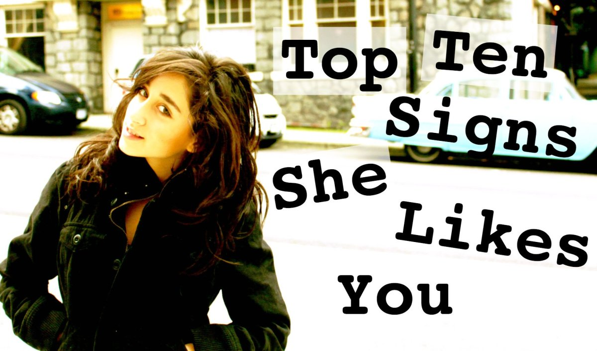 10 Top Signs She Likes or Wants You