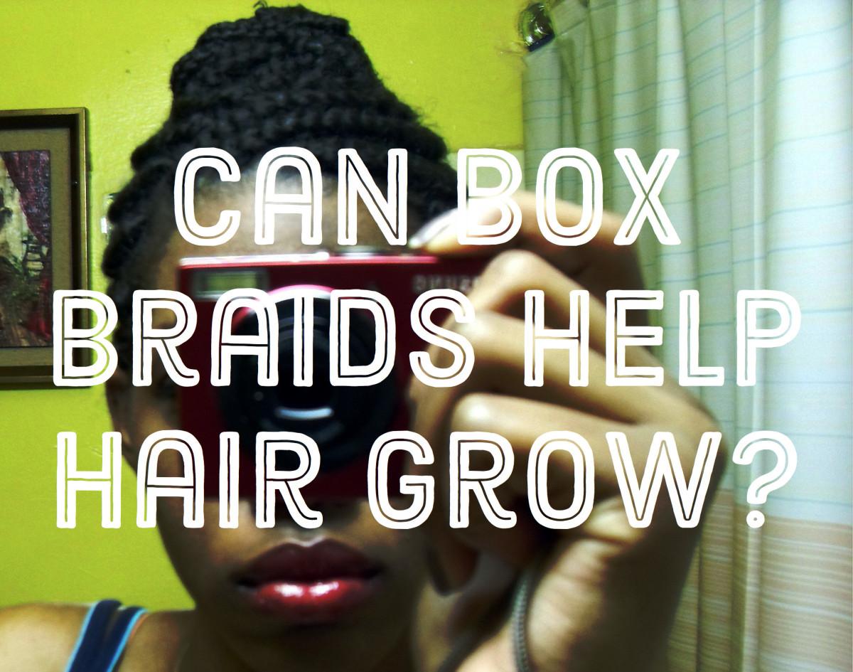 Braid extensions hair growth