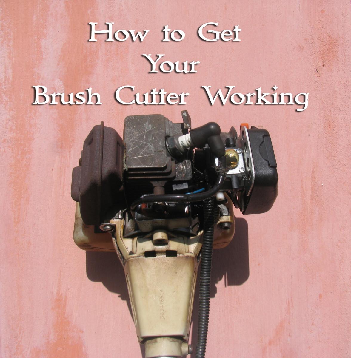 Stihl Brush Cutter Motor